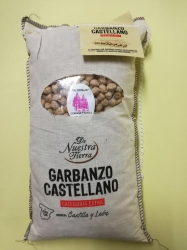 Garbanzo castellano.